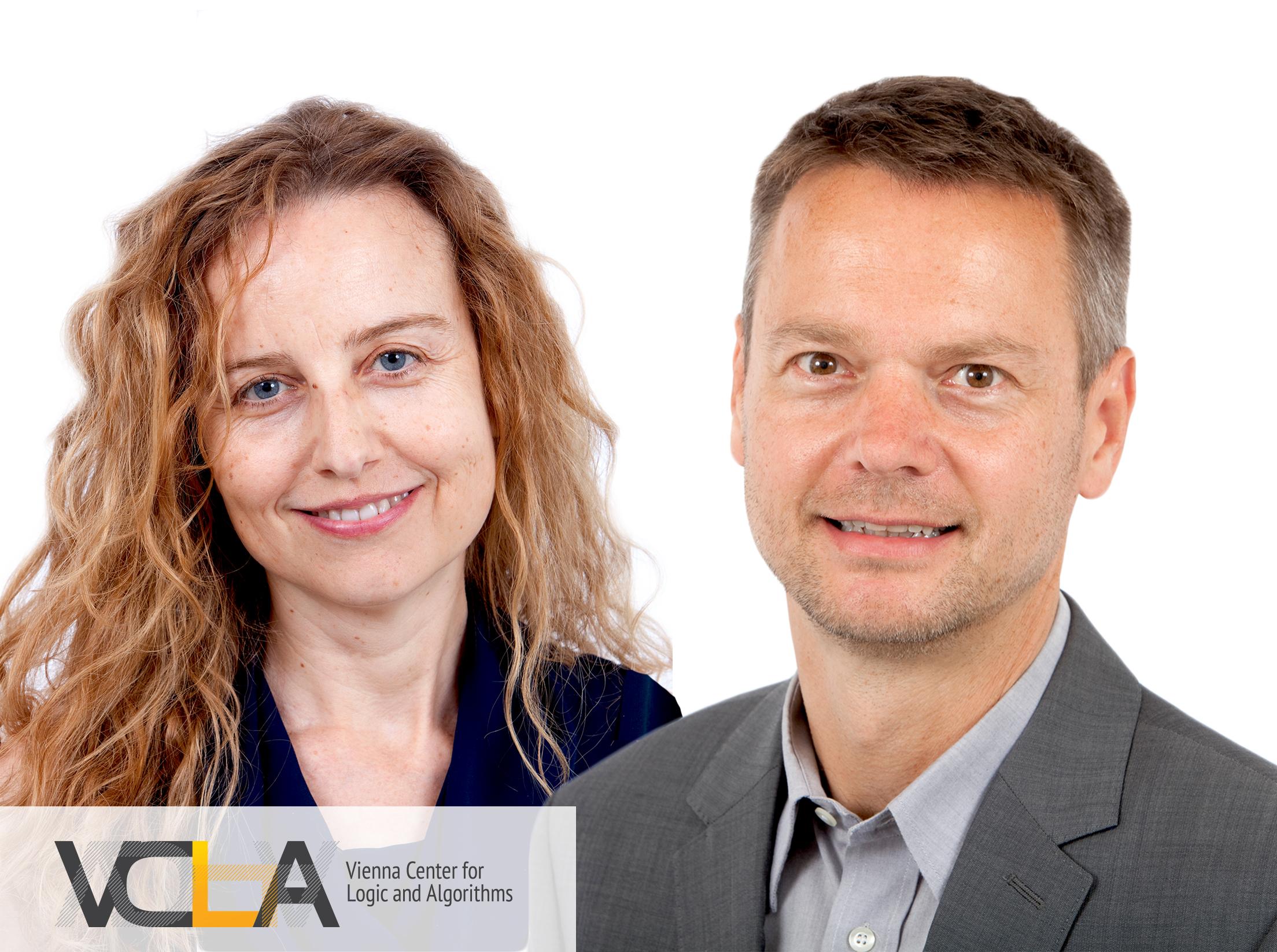Agata Ciabattoni und Stefan Szeider