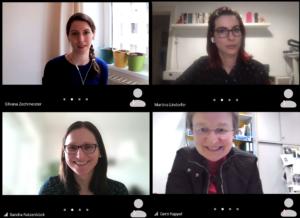 Unsere Mentorinnen im Online-Einsatz